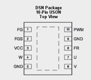 Sensorless BLDC Motor Driver Circuit