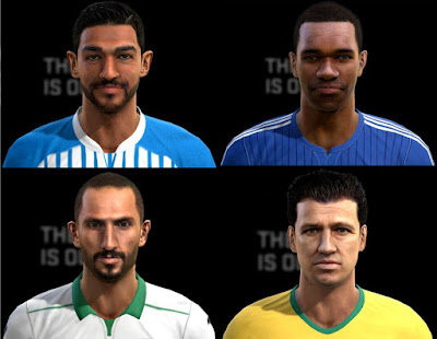PES 2013 Facepack Update 08/08/2016 by Pablobyk