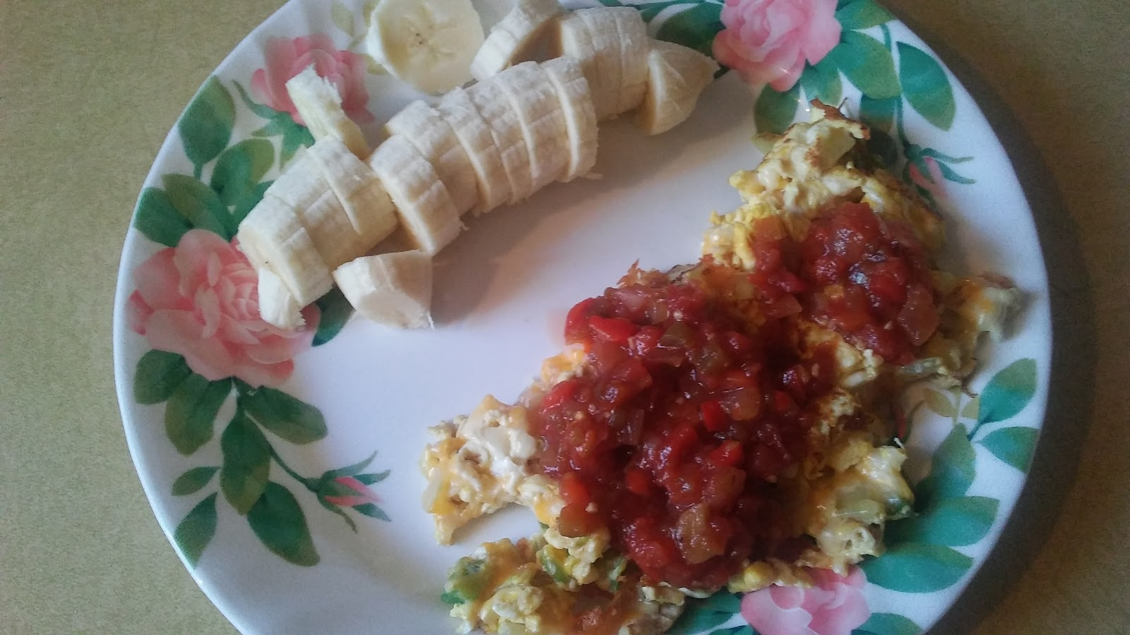 ... Day At A Time: Southwestern style egg scramble (new recipe #6 of 2017