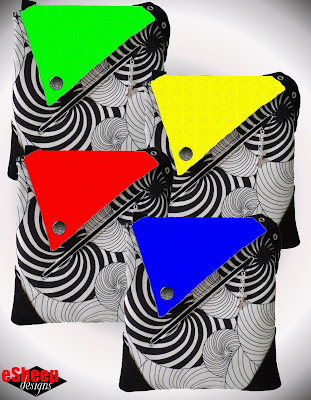 Hues Convertible Crossbody Fooler Bag by eSheep Designs
