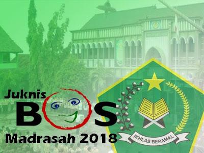 Juknis BOS Madrasah 2018 Resmi