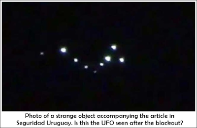 UFOs Photographed Over Salto, After Blackout 6-1-2017
