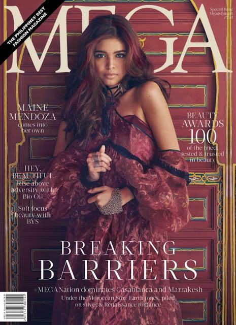 Maine Mendoza MEGA Magazine October 2016 Cover issue