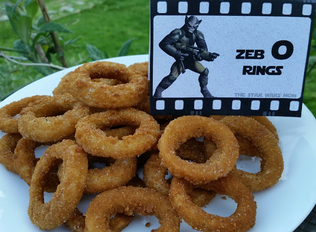 Zeb O Rings Onion Rings Star Wars Rebels Party Food
