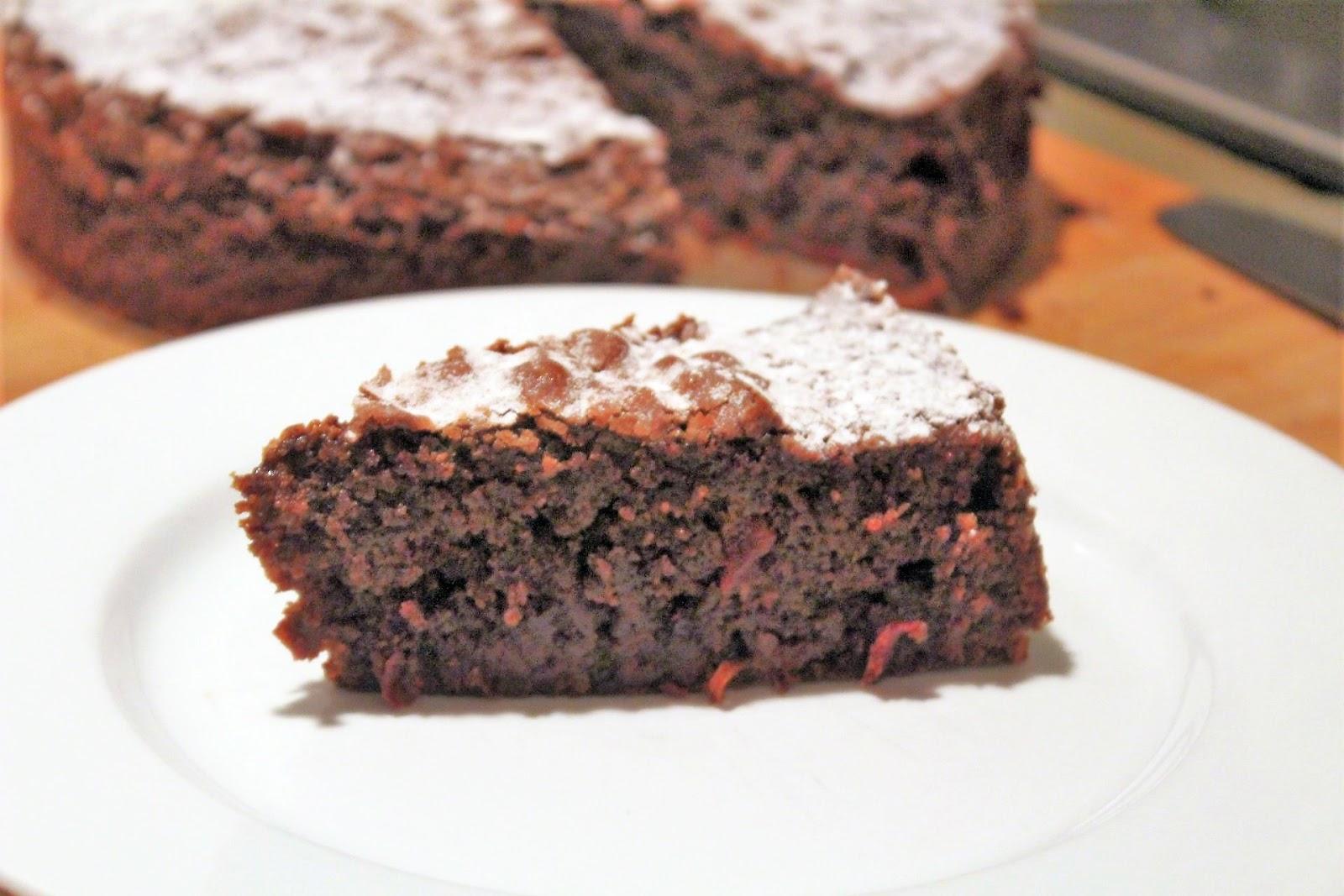 Schokoladenkuchen Mit Roter Bete Glatzkoch De