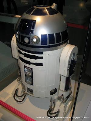 Exposición de Star Wars en Madrid R2D2- Star Wars exhibition in Madrid - R2D2