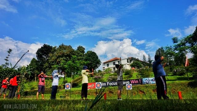 Archery Target D'Emmerick Adventure Park Salatiga