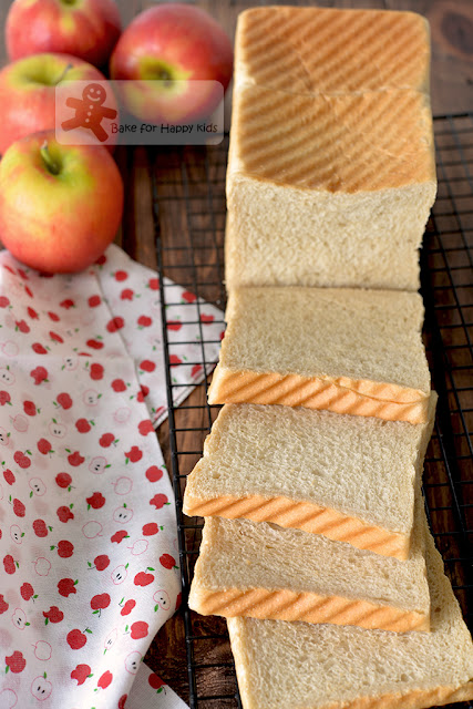 extremely soft apple honey sandwich bread