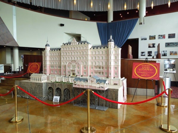 Grand Budapest Hotel original model display