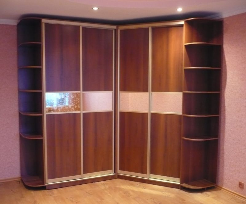 50 Space saving Corner Wardrobe Designs for small bedroom ...