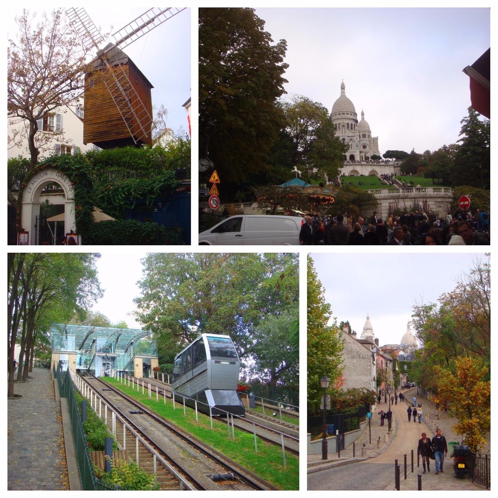 Montmartre em Paris