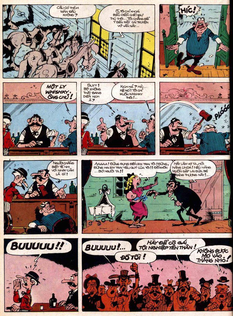 Lucky Luke tap 18 - ki si ao trang trang 8