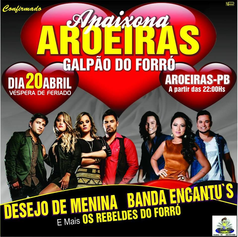 AROEIRAS EM FESTA DIA 20 DE ABRIL