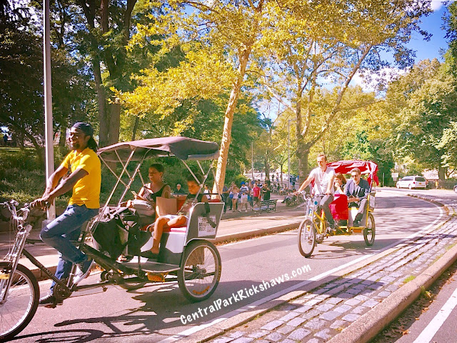 Central Park Pedicab Rickshaw Tours NYC