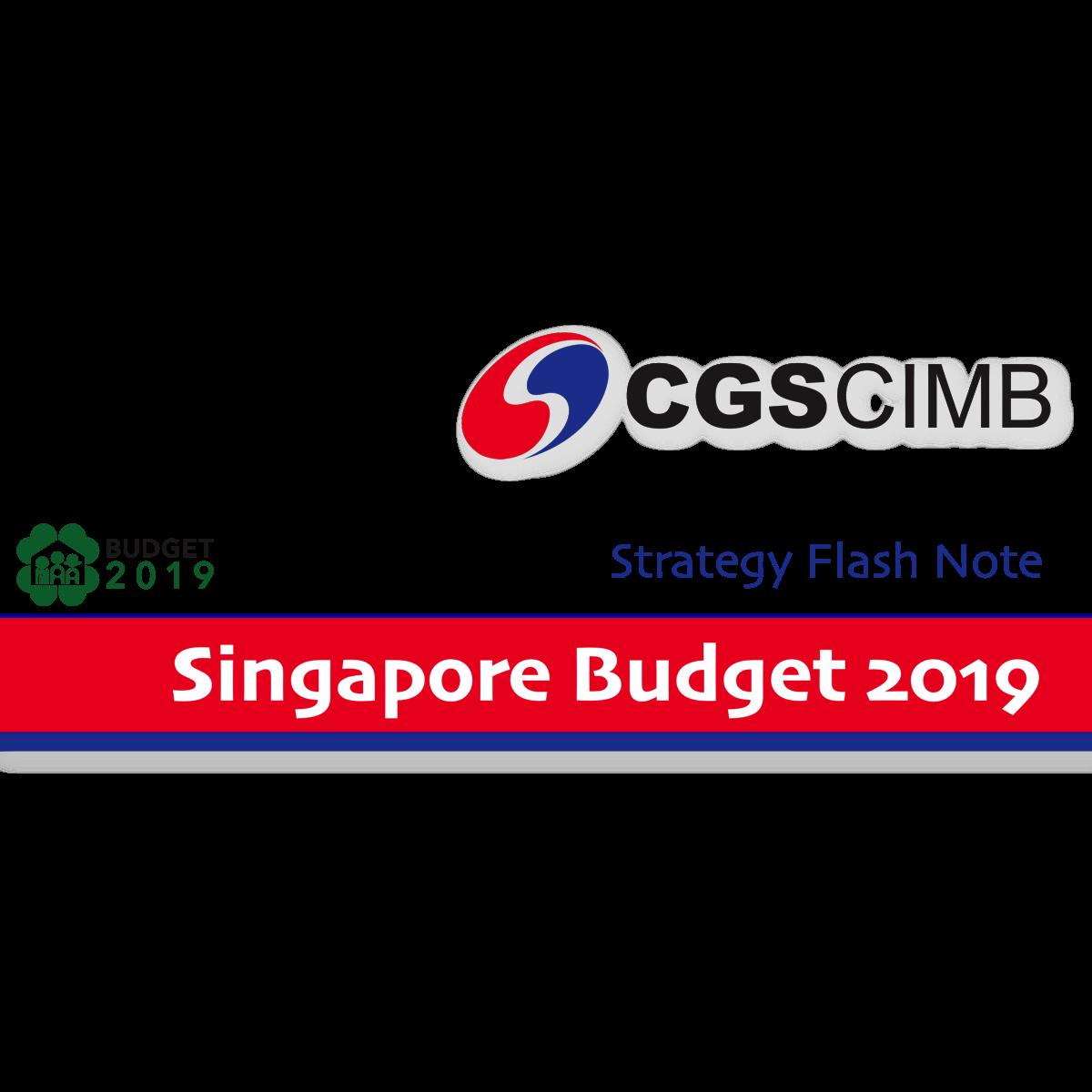 Singapore budget 2019 - CGS-CIMB Research  | SGinvestors.io