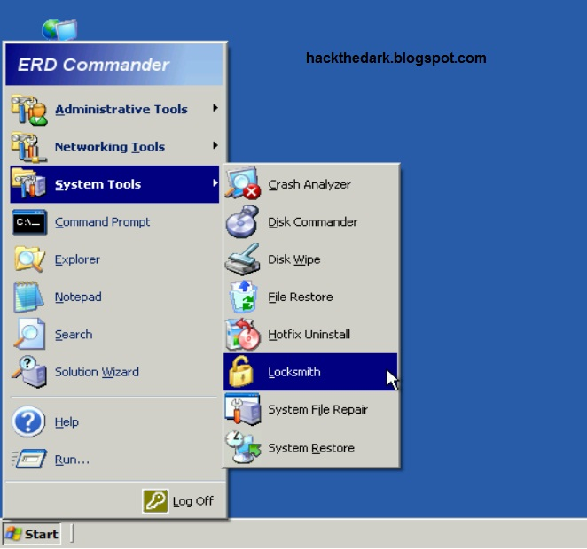 erd commander windows 7