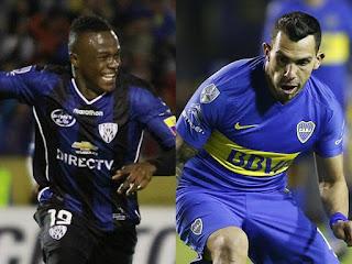 Independiente del Valle vs Boca Juniors en Copa Libertadores 2016