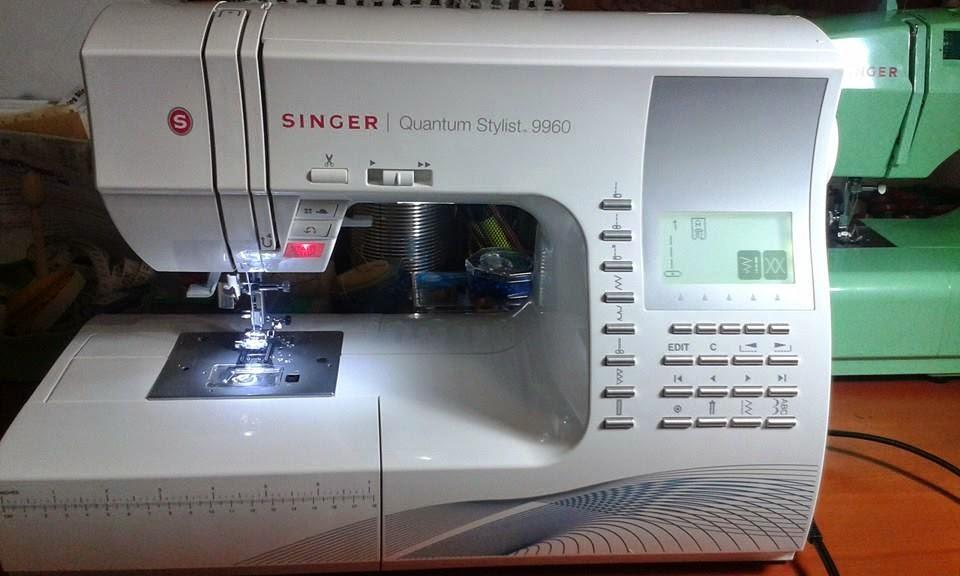 Vi presento la mia nuova bimba: SINGER QUANTUM STYLIST 9960