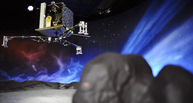 Sonda Philae acorda após sete meses de hibernação