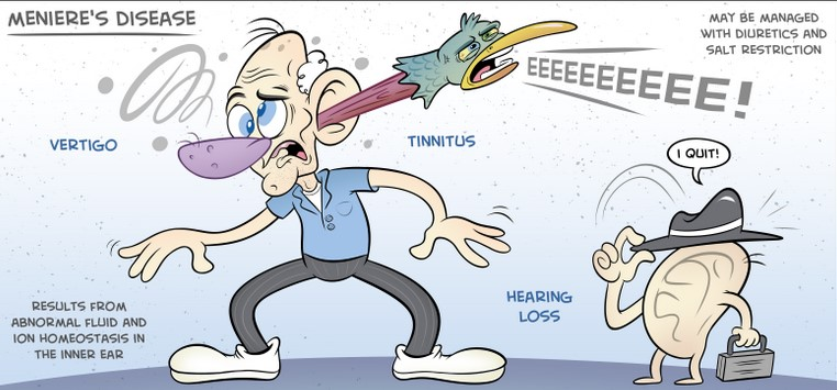 This lessens head congestion, and tinnitus may become less noticeable 1