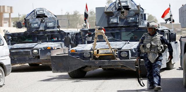 الجيش العراقي يحرر ثلاث مخطوفين من أيدي داعش في مدينة الموصل