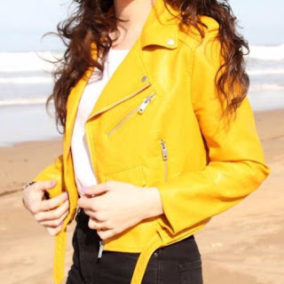 Chaqueta amarilla de Zara My Mod.S.O.S