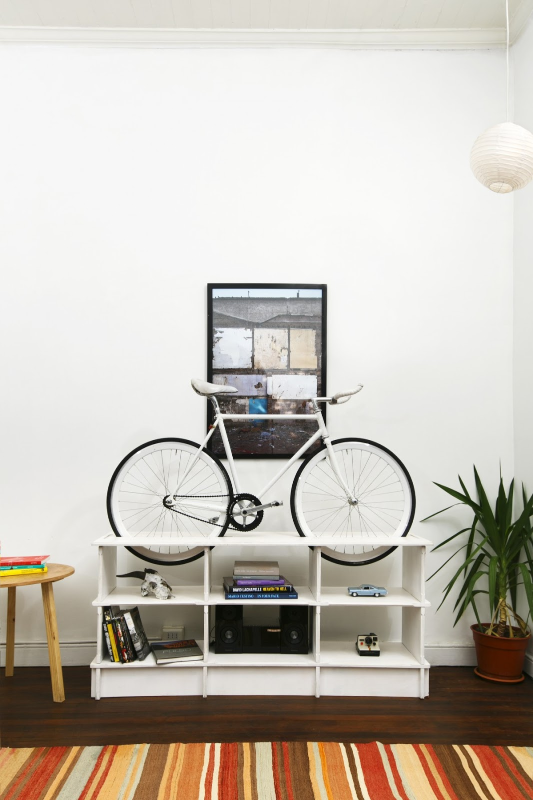 Conoce La Colecci N De Muebles Chol1 Que Sirven Para Almacenar La  # Muebles Bicicleta