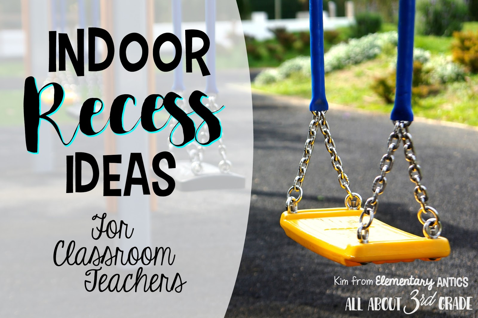 This is a great list of ideas for indoor recess time in your classroom!