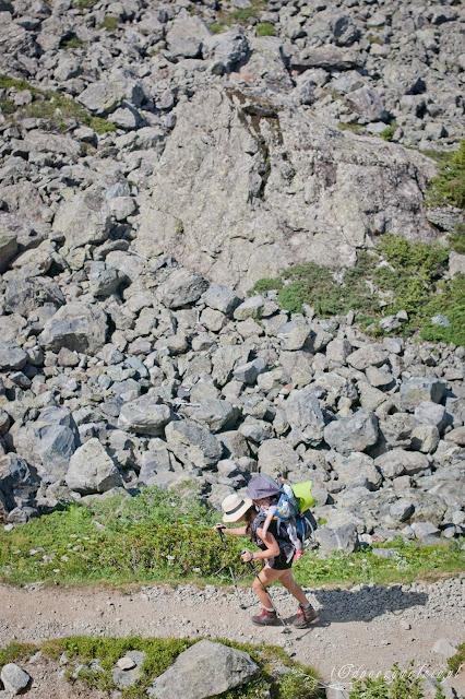 nosidło górskie, deuter, trekking z małymi dziećmi
