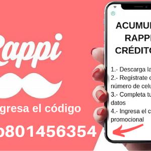 Codigo promocional glovo app