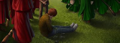 Allenamento di Quidditch (Momento 1)