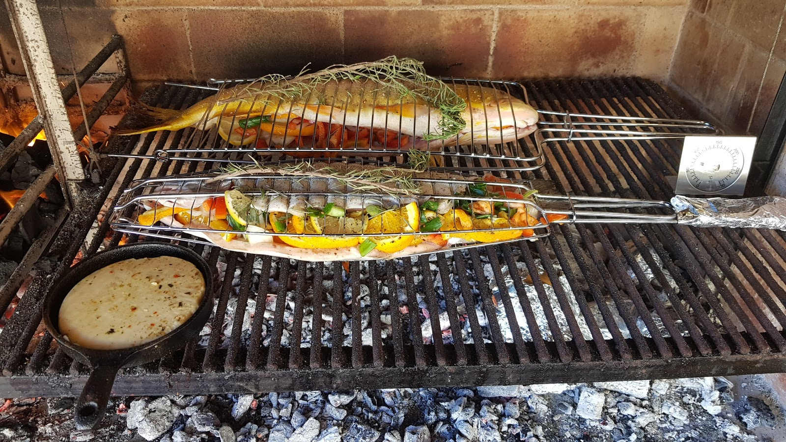 Parrilla with fish
