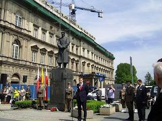 80. rocznica śmierci Józefa Piłsudskiego - przemawia autor