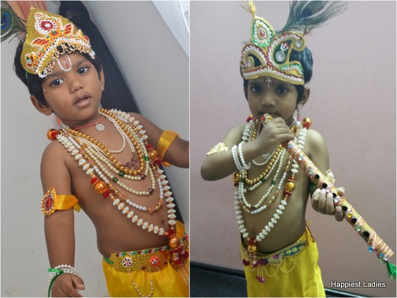krishna costumes jewelleries