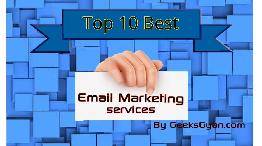 Top Ten Email marketing services