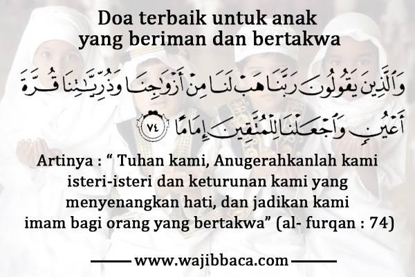Inilah Doa Terbaik untuk Anak yang Wajib Dipanjatkan Bagi ...