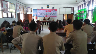 KPU Wajo Goes To School Kec. Pammana