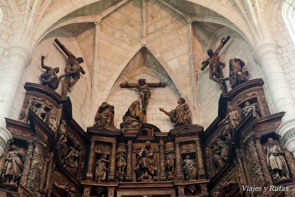Parte alta junto a la cúpula Santa Clara