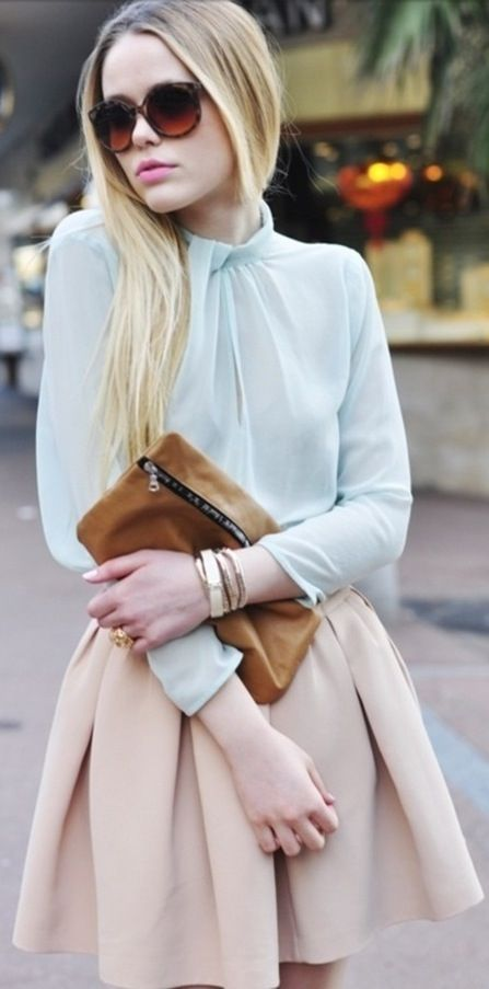 Pastel Looks Skirts and Tops - Dress to Impress