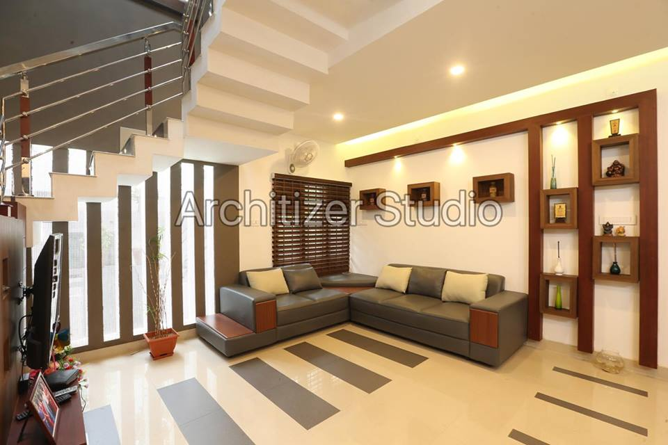 Stunning Low Cost 3 Bedroom Modern Home Design In 3 5 Cent For 1700 Square Feet Free Kerala Home Plans