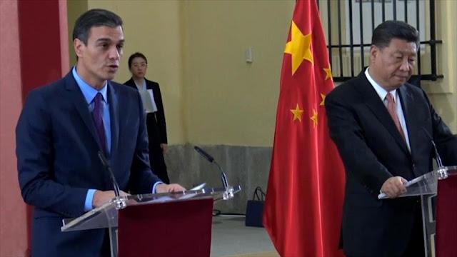 Presidente de China fortalece en España los lazos económicos