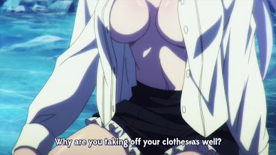 Strike the Blood anime fanservice