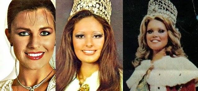 Misses Universo Brasil 1972, 1973 e 1974