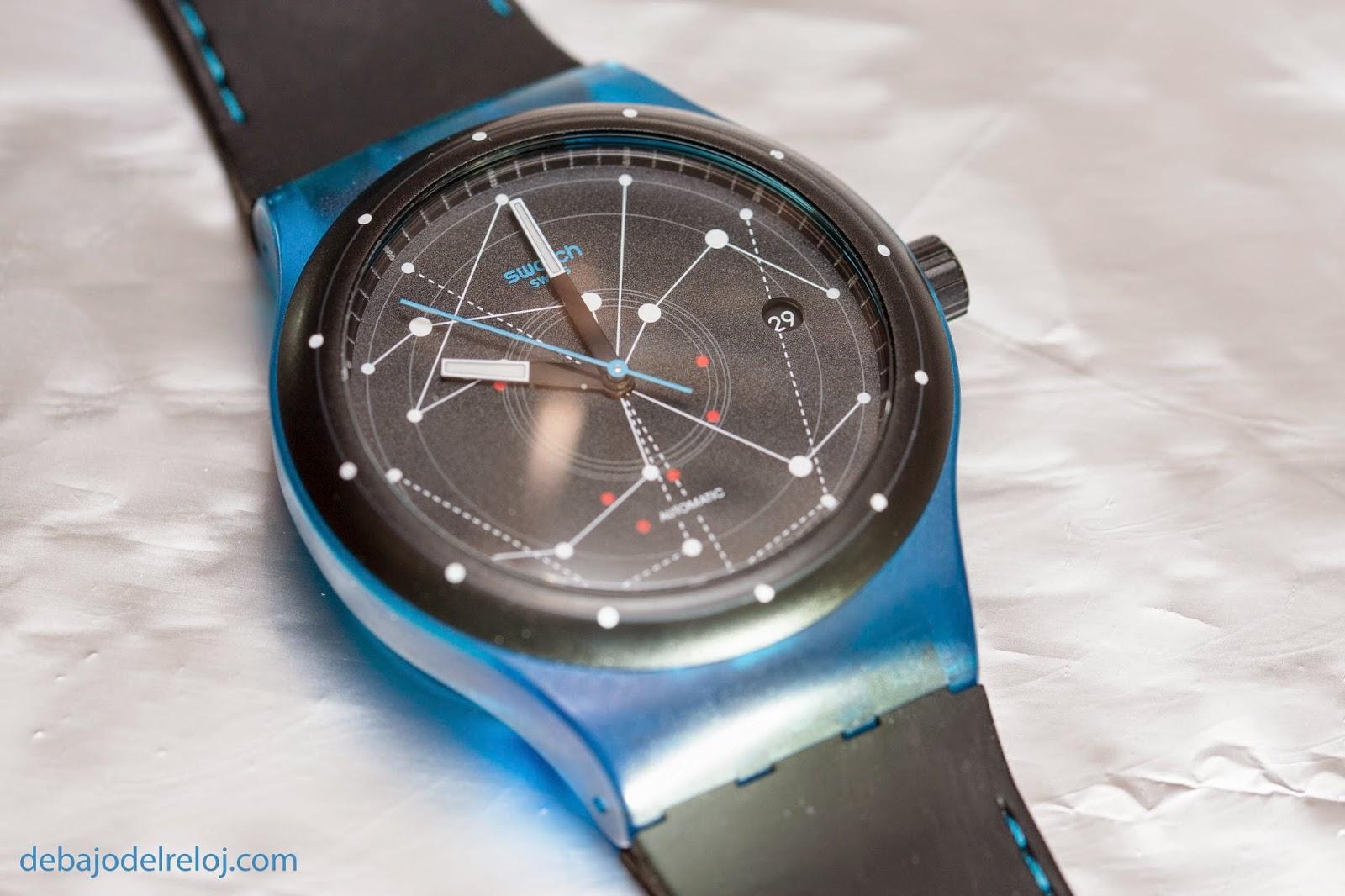Uno de mis relojes: Swatch Sistem51 debajodelreloj3