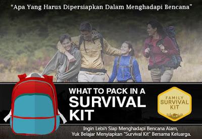 Ingin Lebih Siap Menghadapi Bencana Alam, Yuk Belajar Menyiapkan Survival Kit Bersama Keluarga.