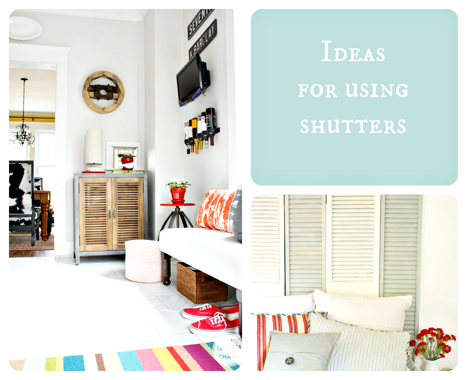 Ideas with shutters