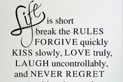 Live love laugh quotes short