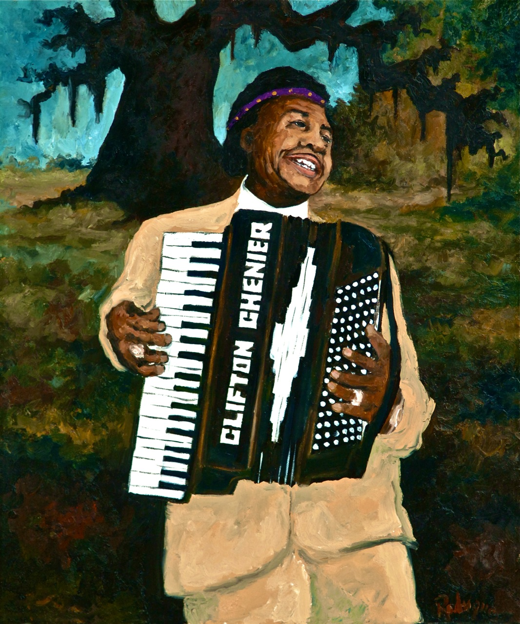 Life & Legacy: Musings of an Artist's Wife: Clifton Chenier