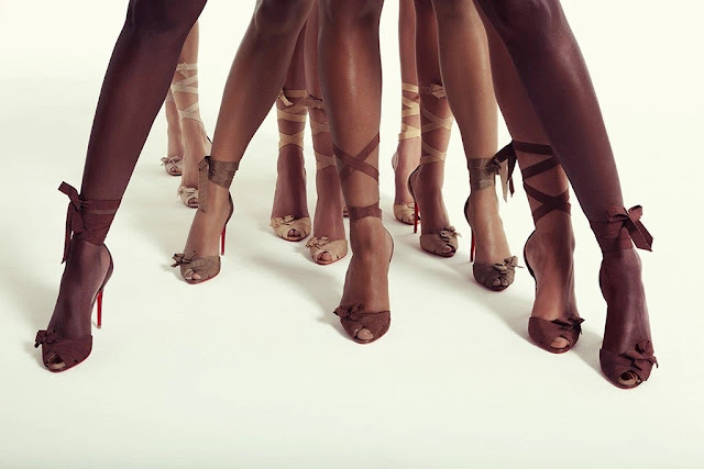 Christian Louboutin Christeriva sandals from the Nudes collection