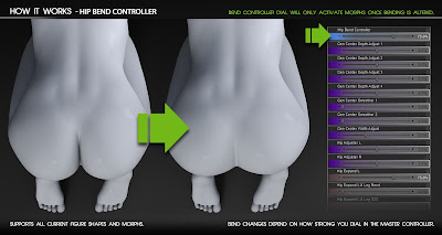 Bend Control for Genesis 3 Female